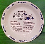 English Shepards Pie Baker By Watkins Made By Royal China