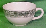 Teacup Currier & Ives By Scio Pottery