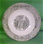 6 1/8 Inch Cereal Bowl Currier & Ives Scio Pottery