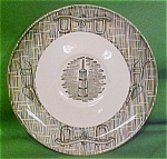 6 Inch Saucer Currier & Ives Pattern By Scio Pottery