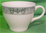 Large Teacup Currier & Ives By Scio Pottery