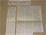 Vw Ad The Wall Street Journal Article December 1991