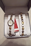 Gloria Vanderbilt Women's Watch & Bracelet