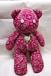 "Handcrafted ""handkerchief"" Stuffed Bear"