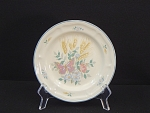 Tieshan Pink Butterfly Yellow Wheat Salad Plate