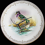 Wood Duck: Boehm Water Birds Plate