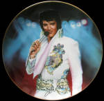 The Legend: Remembering Elvis, By Nate Giorgio, A Bradford Plate