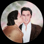 Elvis And Gladys: Looking At Legend, Delphi Plate