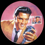 Elvis Rock And Roll Legend: Commemorating The King, Delphi Plate