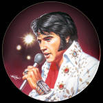 Elvis, Las Vegas, Live: Commemorating The King, Delphi Plate