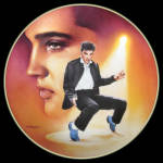 Blue Suede Shoes: Elvis Presley Hit Parade, Delphi Plate
