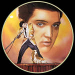 Hound Dog: Elvis Presley Hit Parade, Delphi Plate