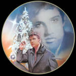 Blue Christmas: Elvis Presley Hit Parade, Delphi Plate