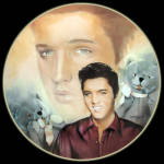 Teddy Bear: Elvis Presley Hit Parade, Delphi Plate
