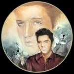 Teddy Bear: Elvis Presley Hit Parade, Delphi Plate