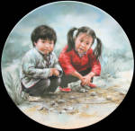 Chinese Chess Chinese Children Games Kee Fung Ng Plate