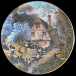 Old Mill: Story Of Country Village, Danbury Mint Hersey