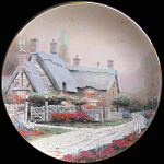 Mckenna's Cottage: By Thomas Kinkade, Knowles Plate