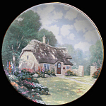Stonegate Cottage: By Thomas Kinkade, Knowles Plate