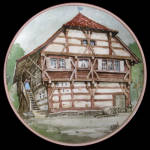 Lake House: German Half-timbered Karl Bedal Plate