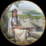 Minnehaha - Noble American Indian Women David Wright