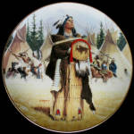 Pine Leaf - Noble American Indian Women David Wright