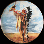 Prayer To The Great Spirit: Paul Calle, Franklin Mint