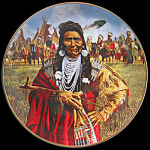 Chief Joseph: Paul Calle, American Indian Plate