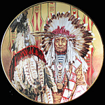 Chief Of Piegon Blackfoot : Paul Calle Franklin Mint