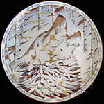 Song Of The Wolf: Kindred Spirits A Diana Casey Plate