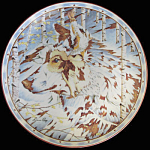 Prayer Of The Wolf: Kindred Spirits A Diana Casey Plate