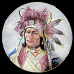 Dignity Of Nez Perce: Council Of Nations, Perillo Plate