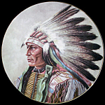 Courage Of Arapahoe: Council Of Nations, Perillo Plate