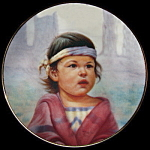 Bright Sky, Nez Perce: Perillo Portraits Miniature