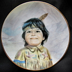 Smiling Eyes, Arapahoe: Perillo Portraits Miniature