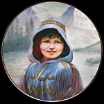 Blue Bird, Sioux: Perillo Portraits Miniature