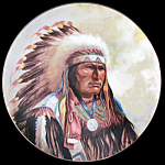 Strength Of Sioux: Council Of Nations, Perillo Plate