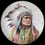 Pride Of The Cheyenne: Council Nations, Perillo Plate