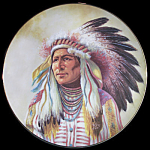 Wisdom Of Cherokee: Council Of Nations Perillo Plate