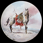 Nez Perce Pony: War Ponies, Perillo Appaloosa Plate