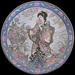 Peony Flower Maiden: Marty Noble, Franklin Mint Doulton