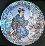 Plum Blossom Maiden: Marty Noble Franklin Mint Doulton