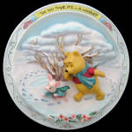 Its A Woozle?: Pooh Scuptural Bradford Plate 1997