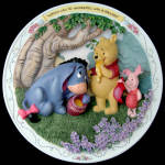 Nobody Can Be Uncheered: Pooh Bradford Plate 1997