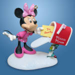 Letter To Santa: Disney Minnie Mouse Hallmark Ornament