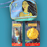 Disney's Pocahontas Soap, Lip Balm, Small Bag