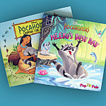 Disney Pocahontas Two Pop-up Children's Picture Books