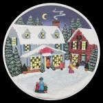 Kringle's General Store: Rhodes Lighted Collector Plate