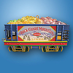 Rock Candy Mountain Carlton Wonderland Express Ornament 2004
