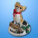 Chihuahua Holiday Feast: Carlton Ornament 2006